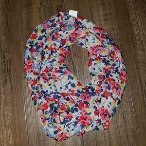 NWOT floral scarf